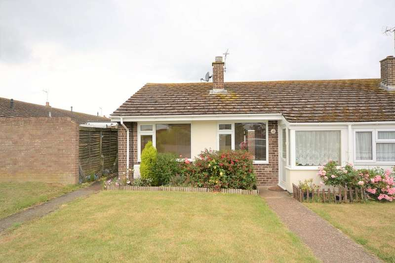 2 Bedrooms Semi Detached Bungalow for sale in Taylors Lane, St Mary's Bay