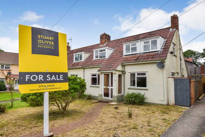 2 Bedrooms Semi Detached House for sale in 20 Woodborough Crescent, Winscombe, BS25 1AW