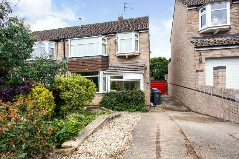 3 Bedrooms Semi Detached House for sale in Longford Road, Sheffield, South Yorkshire, S17