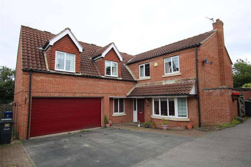 5 Bedrooms Detached House for sale in Hawthorne Close, Glentworth, Gainsborough