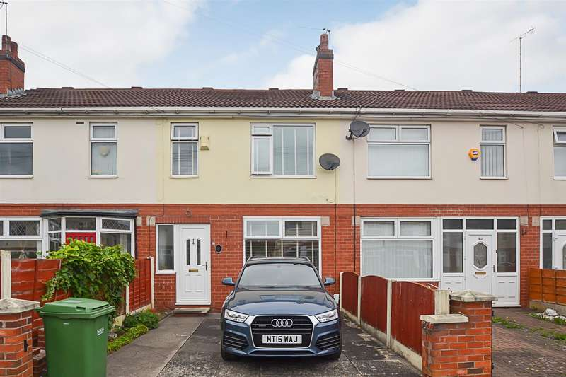 3 Bedrooms Terraced House for sale in Thornbury Road, Stretford, Manchester