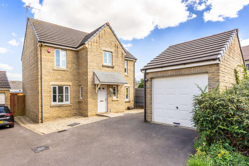 4 Bedrooms Detached House for sale in Beechwood Close, Nailsworth