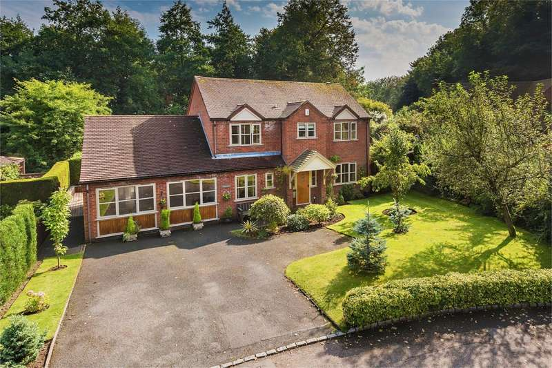 4 Bedrooms Detached House for sale in 39 Priorslee Village, Priorslee, Telford, Shropshire, TF2