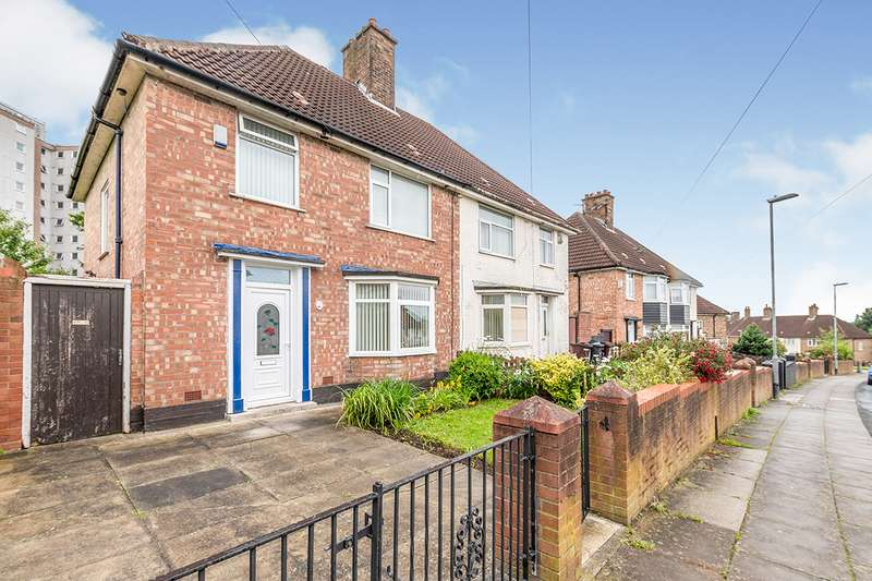 3 Bedrooms Semi Detached House for sale in Nyland Road, Liverpool, Merseyside, L36