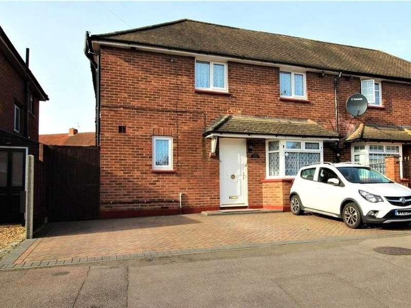 4 Bedrooms Semi Detached House for sale in Friend Avenue, Aldershot, GU12