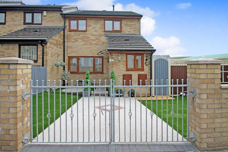 3 Bedrooms End Of Terrace House for sale in Oakland Terrace, Rhymney, Tredegar, NP22 5EP