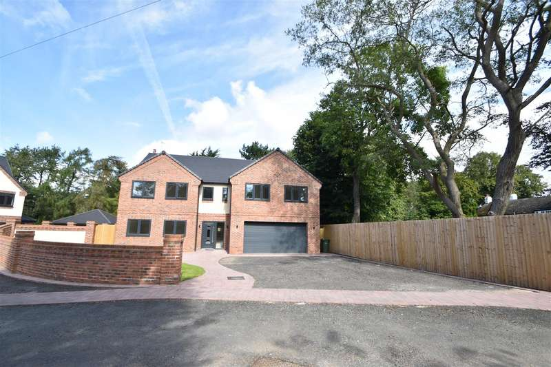 5 Bedrooms Detached House for sale in Meadow View, Mill Lane, Willaston