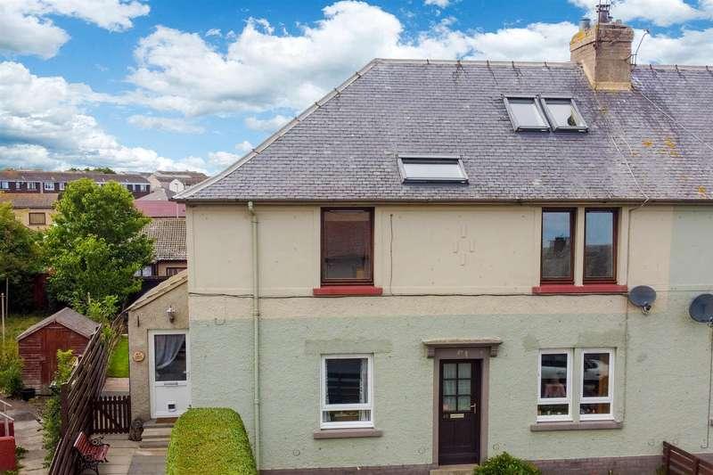 4 Bedrooms Maisonette Flat for sale in Hurkur Crescent, Eyemouth
