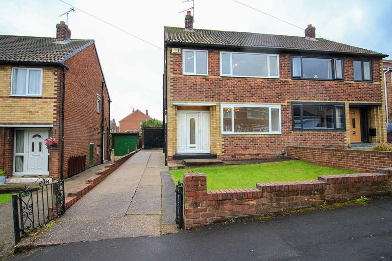3 Bedrooms Semi Detached House for sale in Pembroke Rise, Cusworth,