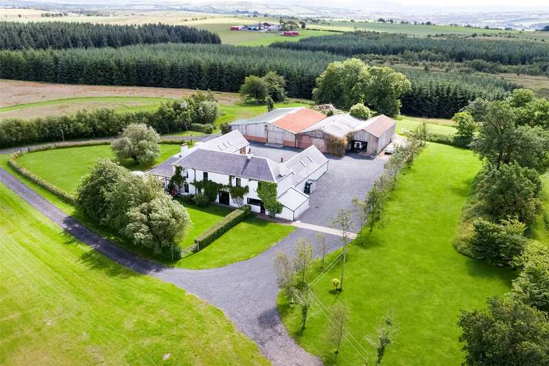 6 Bedrooms Detached House for sale in Glenshamrock Farm, By Auchinleck, Cumnock, East Ayrshire, KA18