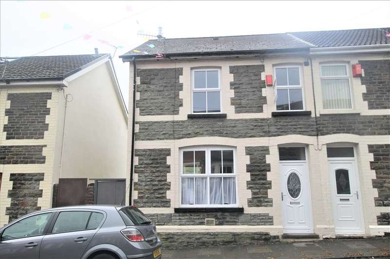 3 Bedrooms Semi Detached House for sale in Cemetery Road, Porth