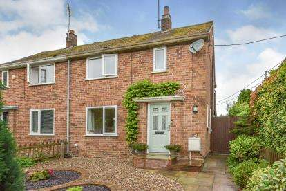 2 Bedrooms Semi Detached House for sale in Blackwell End, Potterspury, Towcester, Northamptonshire