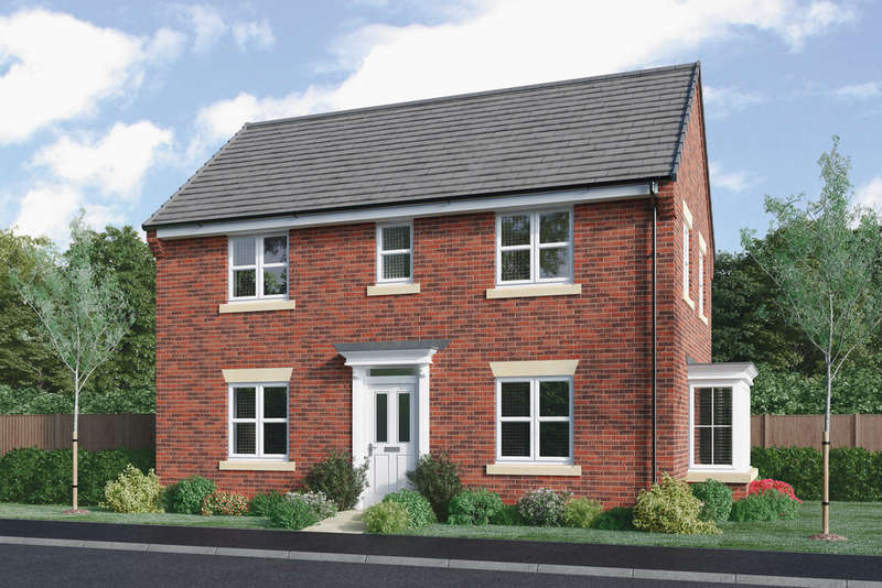 3 Bedrooms Detached House for sale in Plot 62 Astley at Imperial Gardens