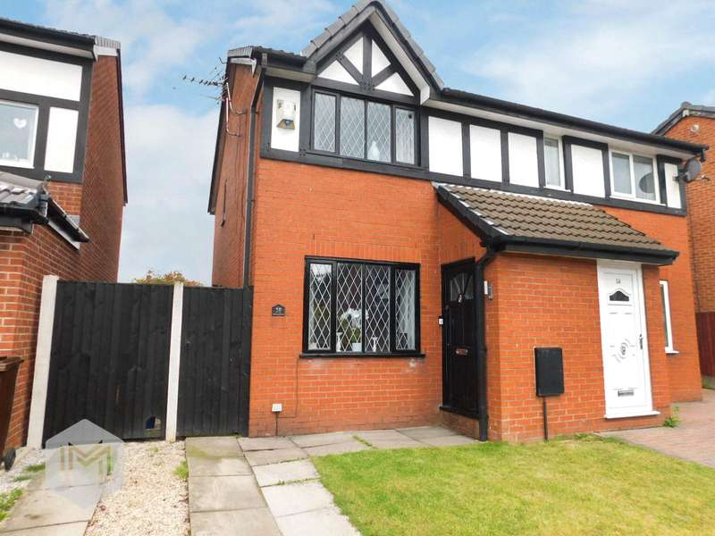 2 Bedrooms Semi Detached House for sale in Inglewhite Close, Bury, Greater Manchester, BL9