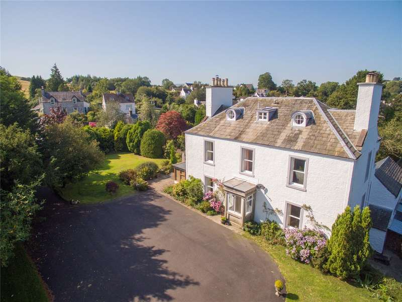 6 Bedrooms Detached House for sale in Meadowbank House & Cottage, High Street, New Galloway, Dumfries & Galloway, South West Scotland, DG7