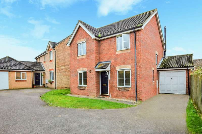 4 Bedrooms Detached House for sale in Monarch Close, Haverhill