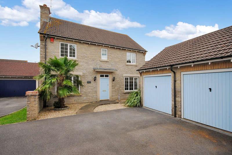4 Bedrooms Detached House for sale in Glebelands Close, Cheddar