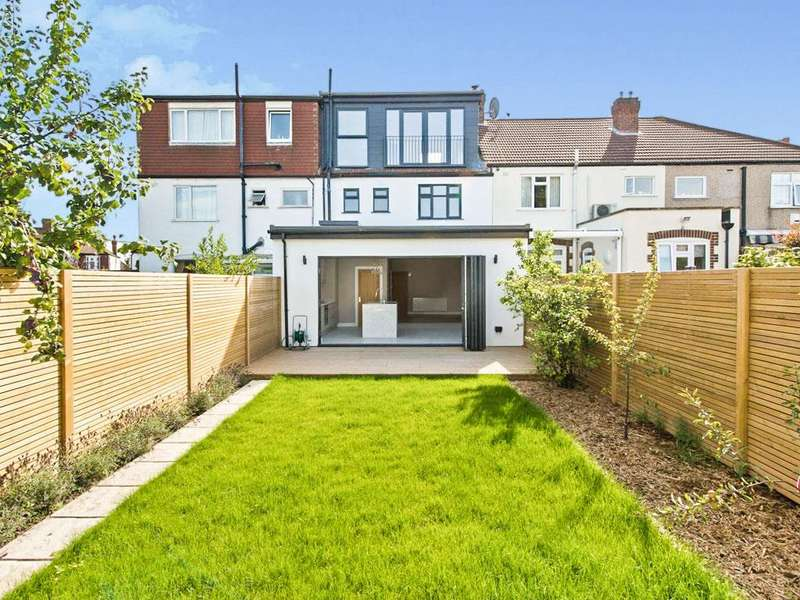 4 Bedrooms Terraced House for sale in Northway, Raynes Park Borders