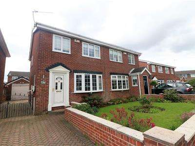 3 Bedrooms Semi Detached House for sale in Packwood Close, Maltby, Rotherham