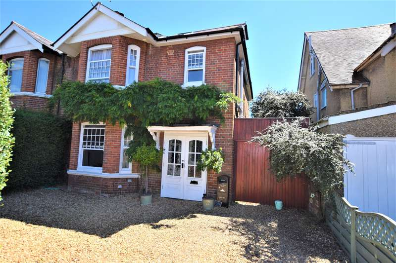 5 Bedrooms Semi Detached House for sale in Upper Shirley Avenue, Southampton, SO15 5NL