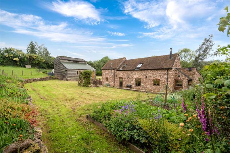 3 Bedrooms Barn Conversion Character Property for sale in Lower Netchwood, Monkhopton, Bridgnorth, Shropshire, WV16 6TF