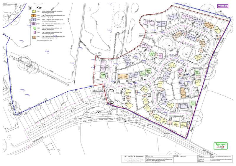 Plot Commercial for sale in Dolau Fields, Llandovery, Carmarthenshire, SA20 0RB