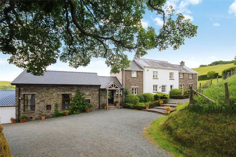 4 Bedrooms Equestrian Facility Character Property for sale in Merthyr Cynog, Brecon, Powys, LD3 9SD