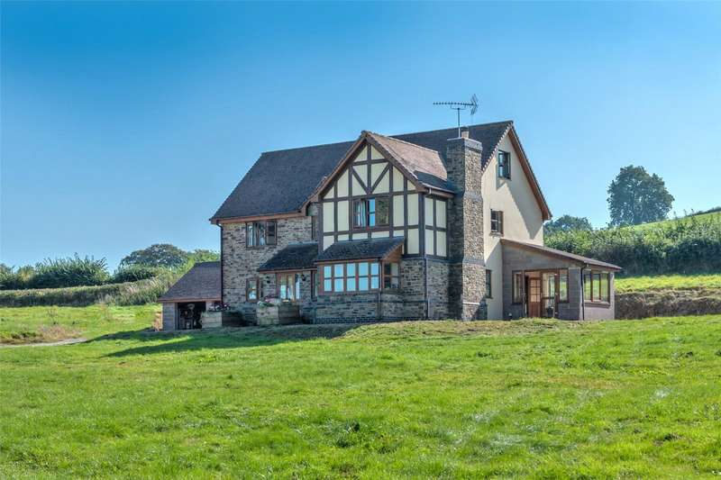 6 Bedrooms Detached House for sale in Deerfold, Lingen, Bucknell, Herefordshire, SY7 0EE