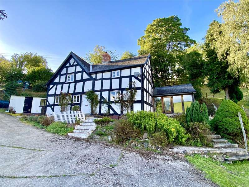 4 Bedrooms Detached House for sale in Ucheldre, Brooks, Welshpool, Powys, SY21 8QW