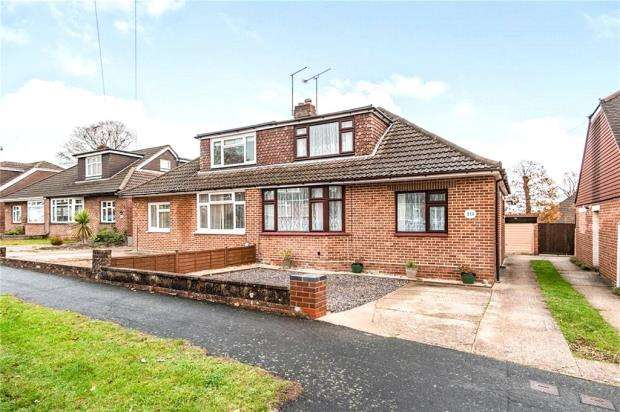3 Bedrooms Semi Detached Bungalow for sale in Yew Tree Avenue, Cowplain, Waterlooville