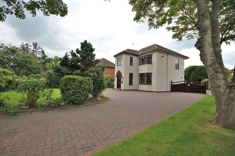 4 Bedrooms Detached House for sale in Prescot Road, Widnes, WA8