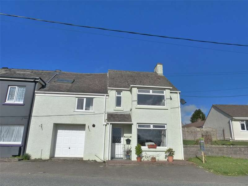 4 Bedrooms Semi Detached House for sale in Sherwood, Moorfield Road, Narberth, Pembrokeshire