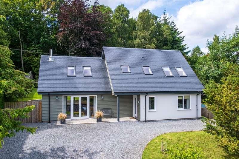 3 Bedrooms Detached House for sale in Flint Cottage, Dunkeld, Perthshire, PH8