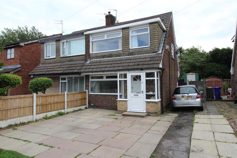 3 Bedrooms Semi Detached House for sale in Appledore Drive, Manchester, M23 9WW
