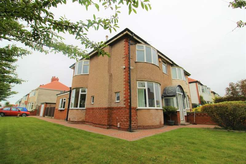 3 Bedrooms Semi Detached House for sale in Albany Avenue, Blackpool, Lancashire, FY4