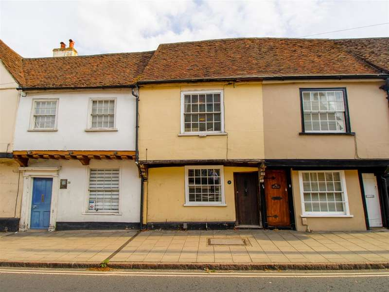 2 Bedrooms Terraced House for sale in East Hill, Colchester CO1