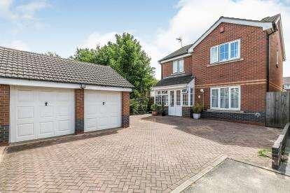 4 Bedrooms Detached House for sale in Opal Gardens, Birmingham, West Midlands, England
