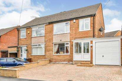 3 Bedrooms Semi Detached House for sale in Floodgate Drive, Ecclesfield, Sheffield, South Yorkshire