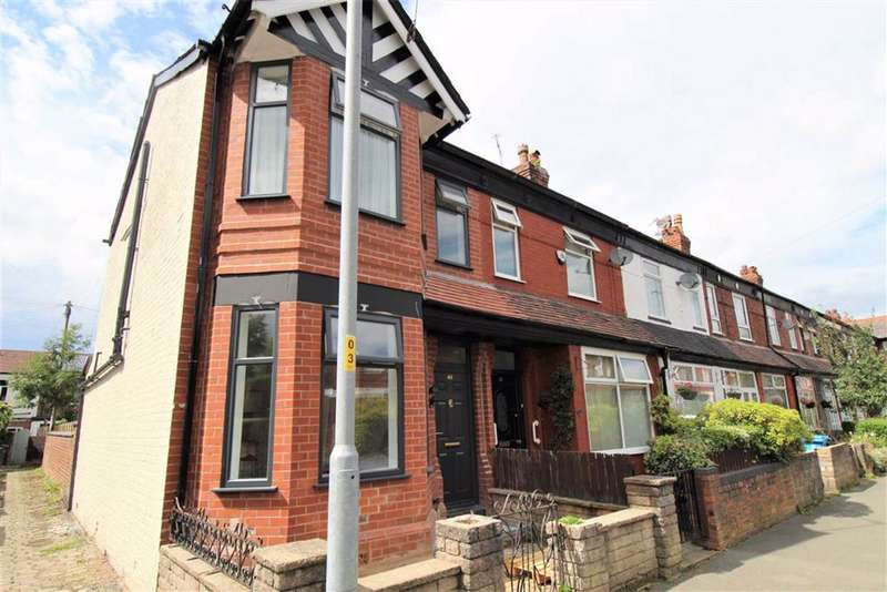 3 Bedrooms End Of Terrace House for sale in Fairbourne Road, Manchester