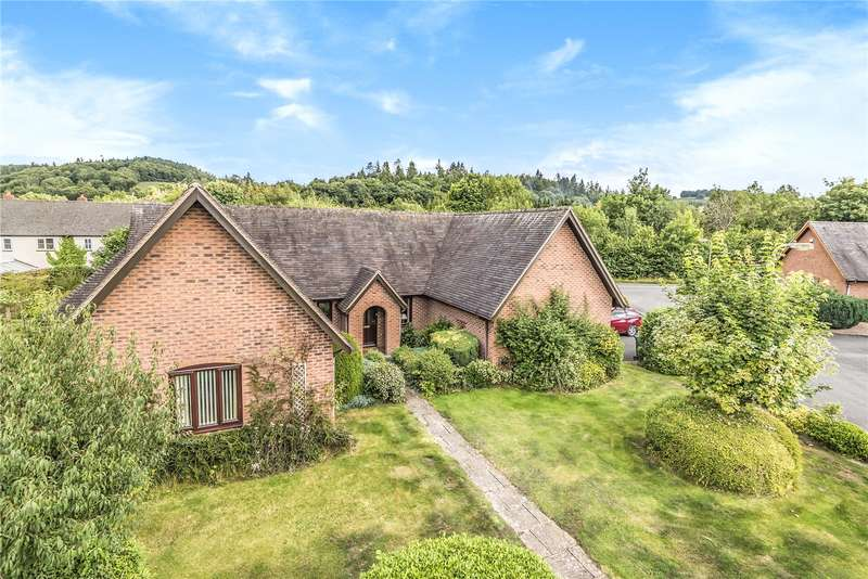 4 Bedrooms Detached Bungalow for sale in 5 Sitwell Close, Bucknell, Shropshire, SY7 0DD