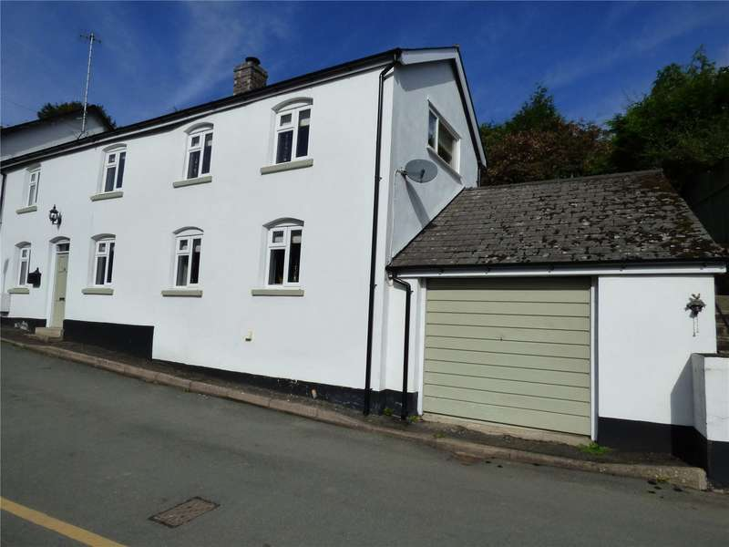 2 Bedrooms Semi Detached House for sale in 5 George Road, The Cwm, Knighton, Powys, LD7 1HF