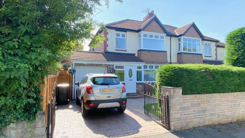 3 Bedrooms Semi Detached House for sale in Whitfield Drive, Benton, NE12