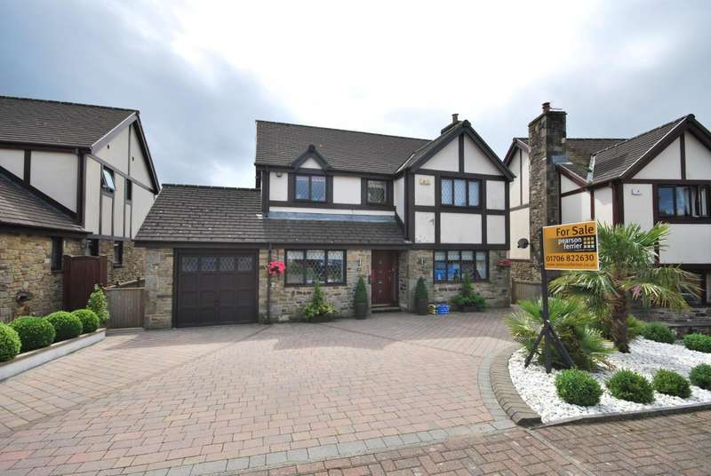 4 Bedrooms Detached House for sale in Heycrofts View, Edenfield