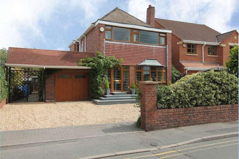 4 Bedrooms Detached House for sale in Racecourse Lane, Norton, Stourbridge, DY8