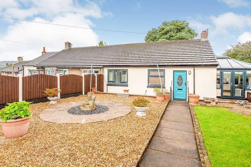 2 Bedrooms Semi Detached Bungalow for sale in Adamson Street, Padiham, Burnley, Lancashire, BB12