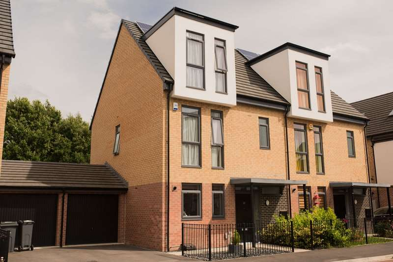 4 Bedrooms Semi Detached House for sale in Parkland Crescent, Doncaster, South Yorkshire, DN5
