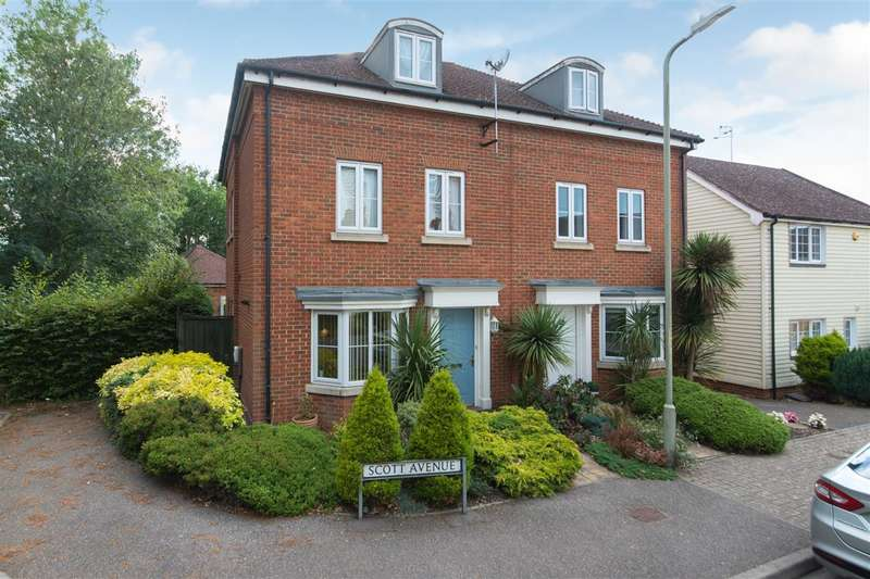 3 Bedrooms Semi Detached House for sale in Scott Avenue, Canterbury