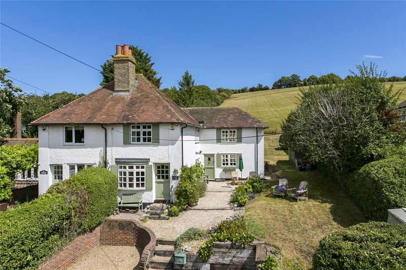 3 Bedrooms Semi Detached House for sale in Maplescombe Farm Cottages, Maplescombe Lane, Farningham, Dartford