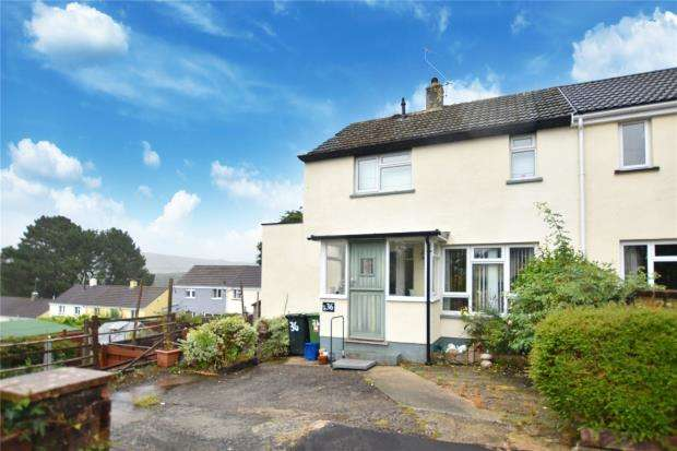 2 Bedrooms Semi Detached House for sale in Furlong Close, Buckfast, Buckfastleigh, Devon
