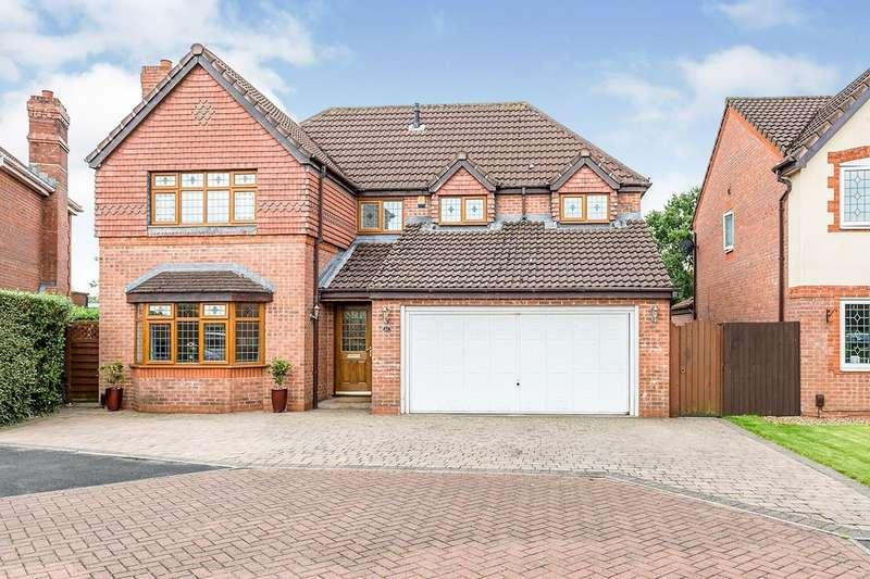 4 Bedrooms Detached House for sale in Allington Close, Walton-le-Dale, Preston, PR5